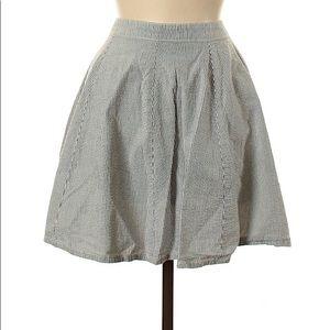 Victoria's Secret Striped Casual Skirt 8
